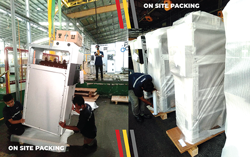 On-Site-Packing